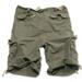 Vintage-Shorts - oliv gewaschen