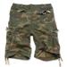 Vintage-Shorts - woodland gewaschen