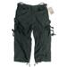 Engineer Vintage 3/4-Pants - schwarz gewaschen