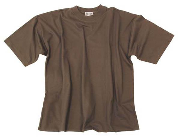 US T-Shirt, halbarm, oliv