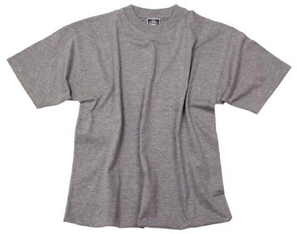 US T-Shirt, halbarm, grau