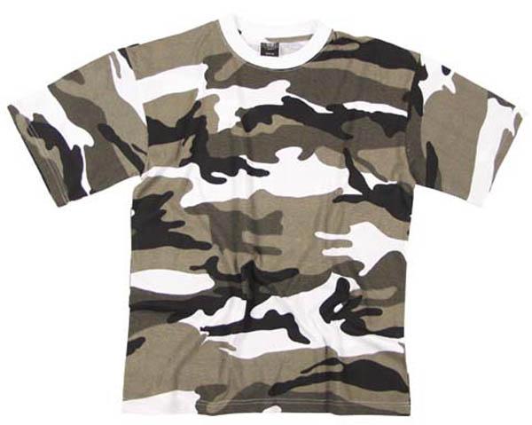 US Tarn T-Shirt, halbarm, metro