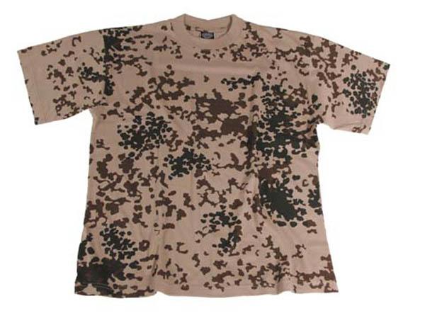 BW T-Shirt, halbarm, BW tropentarn