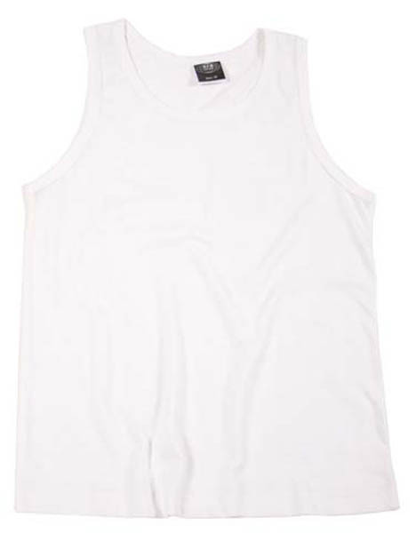 US Tank-Top, weiß
