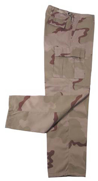 US Kampfhose BDU, desert 3 Farben
