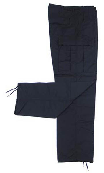 US Kampfhose BDU, Rip Stop, schwarz