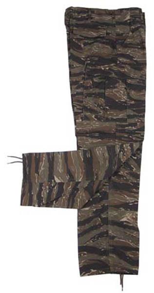 US Kampfhose BDU, Rip Stop, tiger stripe