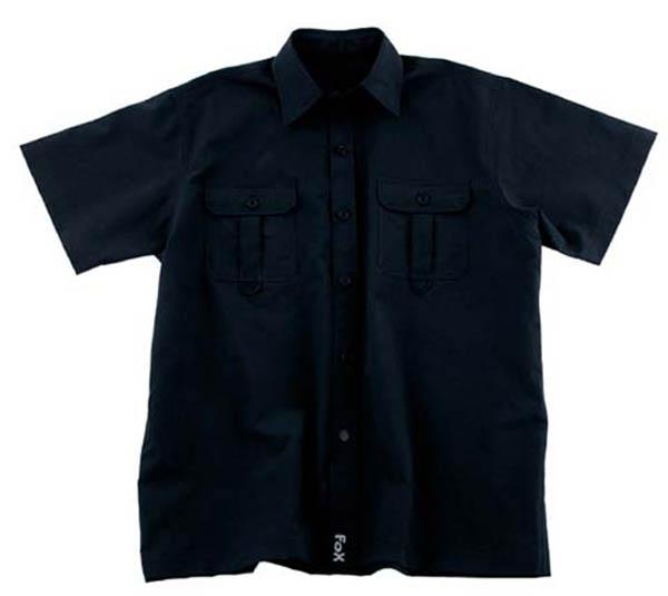 Outdoor Hemd, kurzarm, schwarz