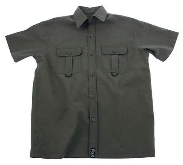 Outdoor Hemd, kurzarm, oliv