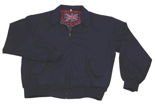 Jacke -English Style-, blau