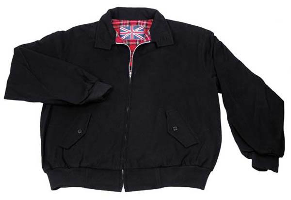 Jacke -English Style-, schwarz