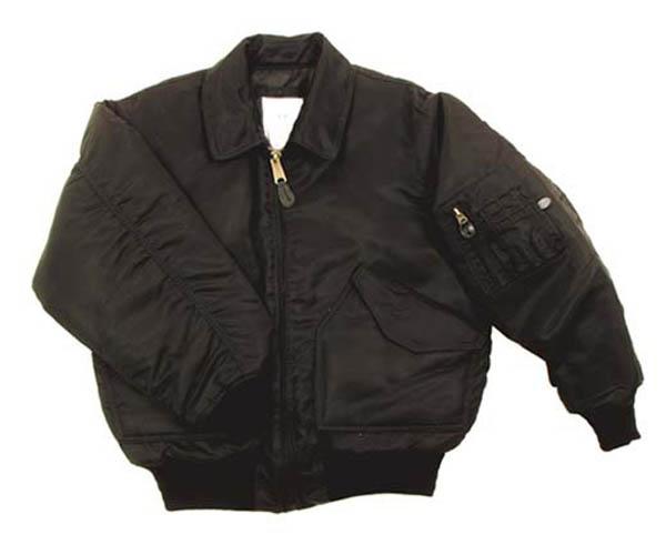 CWU-Piloten-Jacke, schwarz