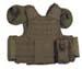 Weste, Combat, div. Taschen, oliv, größenverstellbar, QR