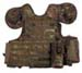 Weste, Combat, div. Taschen, flecktarn, größenverst., QR