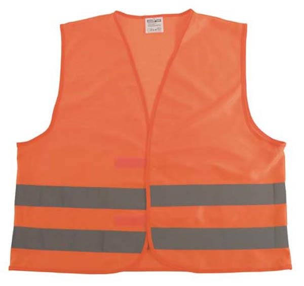 Warnweste, orange, Einheitsgröße