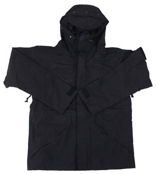 US Regenjacke, schwarz