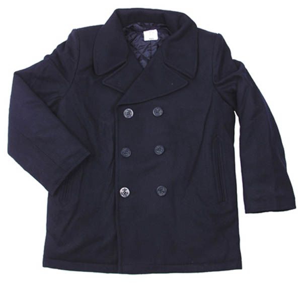 US Pea Coat, blau