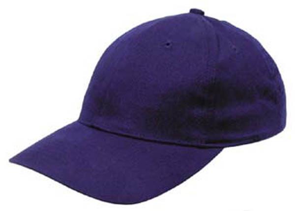 BB Cap flach 100% Baumwolle Stofflasche