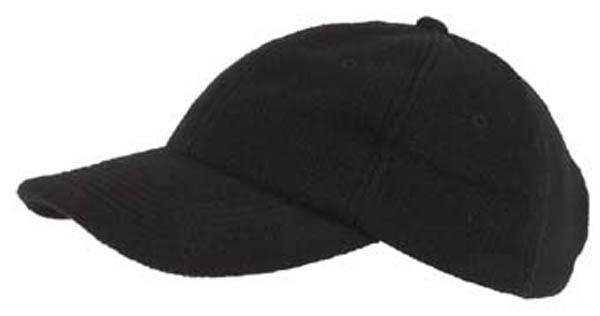 BB Cap, Fleece, schwarz