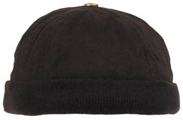 Cap, ohne Schild, schwarz