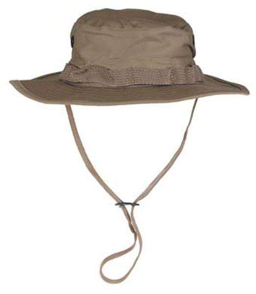 US GI Buschhut, mit Kinnband, khaki
