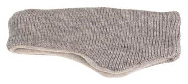 Stirnband, außen gestrickt, innen Fleece