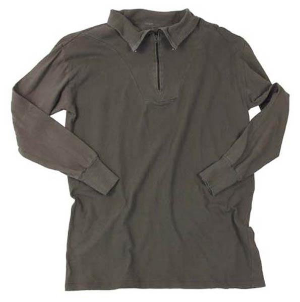 BW Rollkragenhemd, oliv, gebr.