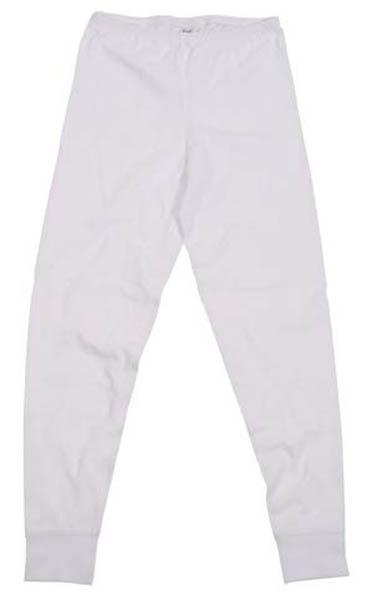 Funktions Unterhose, lang, weiß
