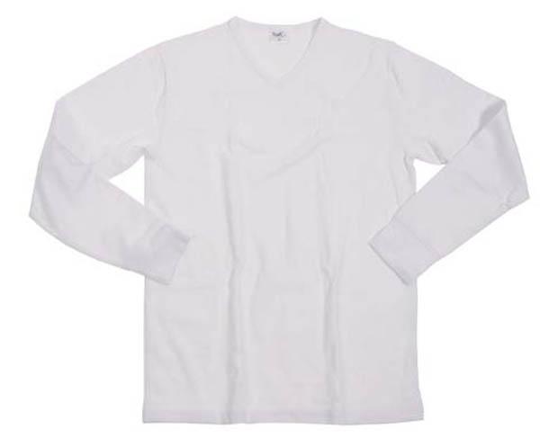 Funktions Unterhemd, langarm, weiß