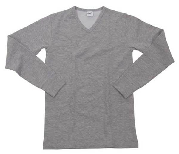 Funktions Unterhemd, langarm, grau