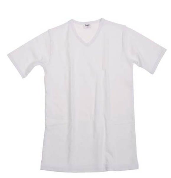 Funktions Unterhemd, kurzarm, weiß