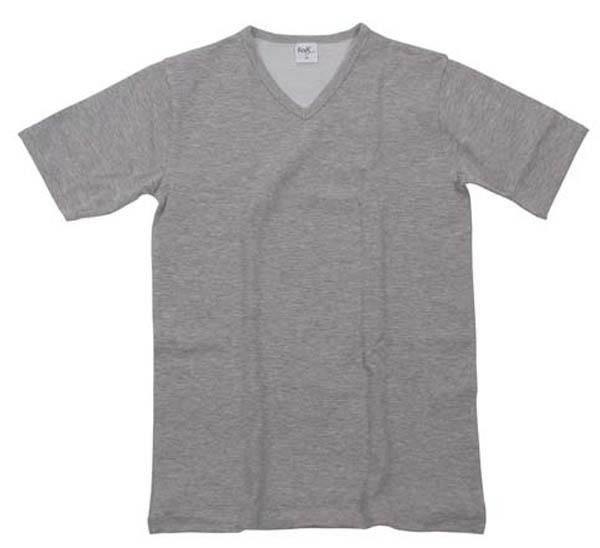Funktions Unterhemd, kurzarm, grau