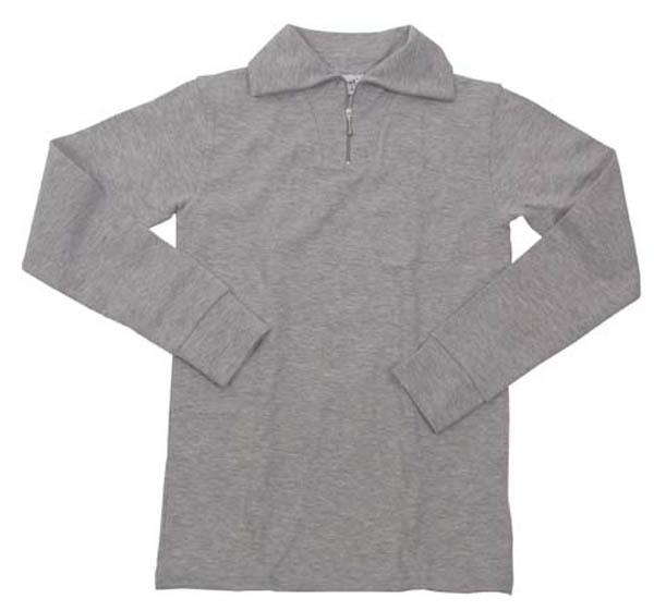 Funktions Rollkragenhemd, grau
