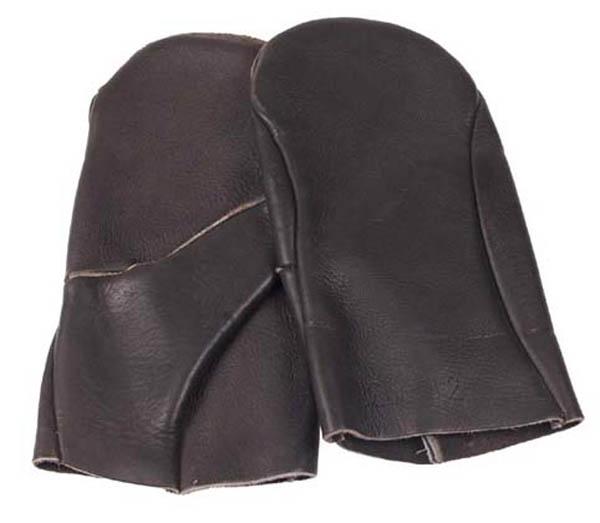 BW Stacheldrahtzieh-Handschuhe, Leder