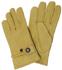 Western-Fingerhandschuh, beige, Leder