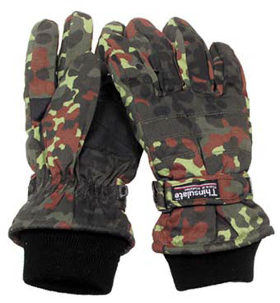 Fingerhandschuhe, Thinsulate, punkttarn