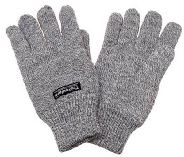 Strick-Fingerhandschuhe, mit
