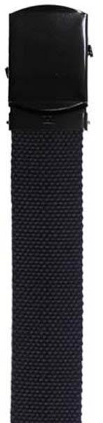 Gürtel, Baumwolle, 30 mm, blau
