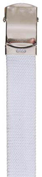 Gürtel, Baumwolle, 30 mm, weiß