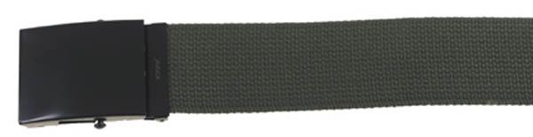 Gürtel, breit, ca. 4,5 x 120 cm, oliv