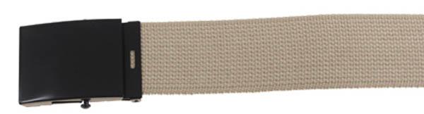 Gürtel, breit, ca. 4,5 x 120 cm, khaki