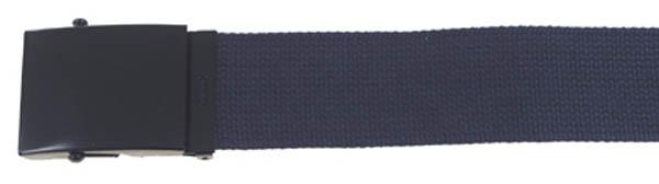 Gürtel, breit, ca. 4,5 x 120 cm, blau