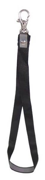 Nackenband-Schlüsselanhänger,schwarz
