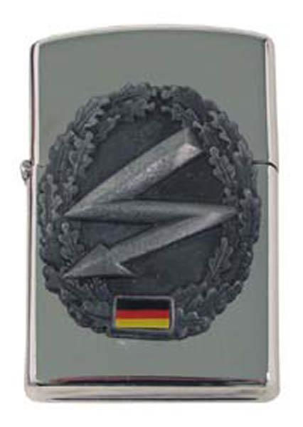Sturmfeuerzeug, -Fernmelder-, silber