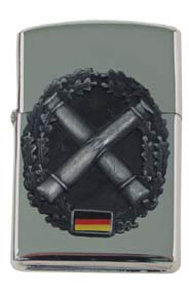 Sturmfeuerzeug, -Artillerie- silber