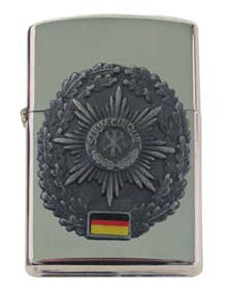 Sturmfeuerzeug, -Feldjäger- silber