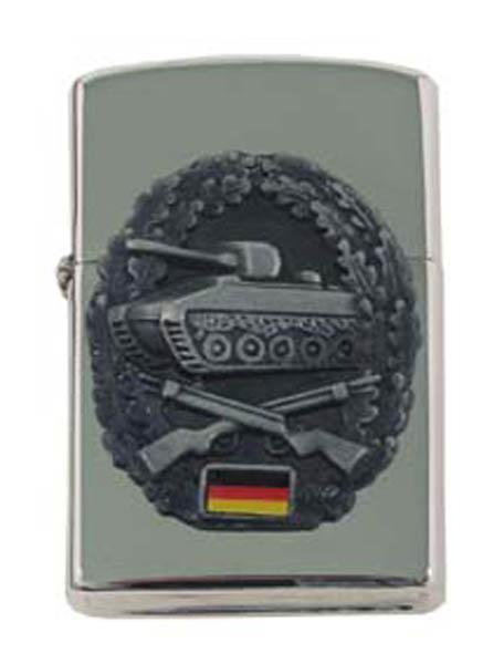 Sturmfeuerzeug, -Panzergrenadier- silber