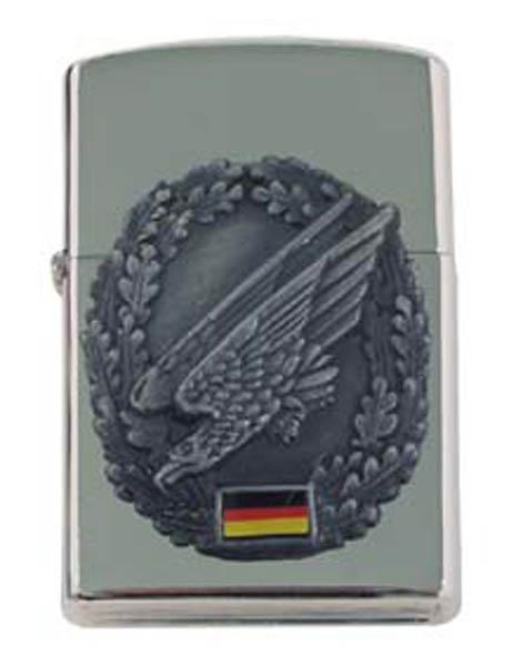 Sturmfeuerzeug, -Fallschirmjäger- silber