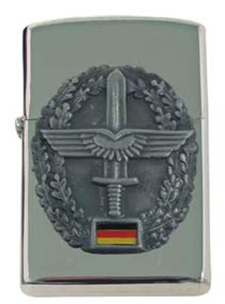 Sturmfeuerzeug, -Heeresflieger-, silber