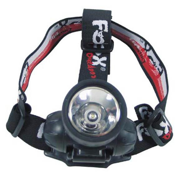 Stirnlampe, 1 Watt Luxeon, ABS Gehäuse